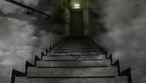 stairs horror dark