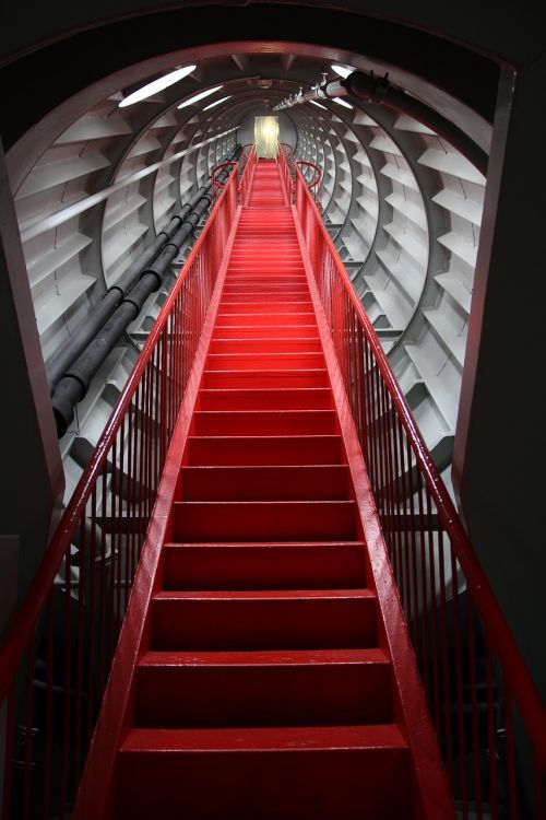 stairs atomium brussels