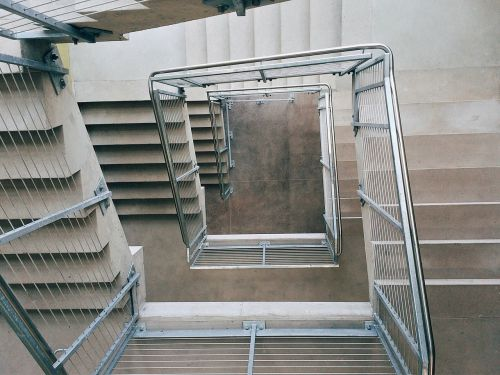 stairs stairwell building