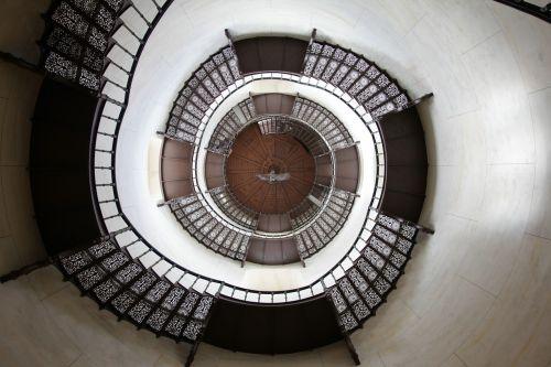 stairs hunting lodge rügen