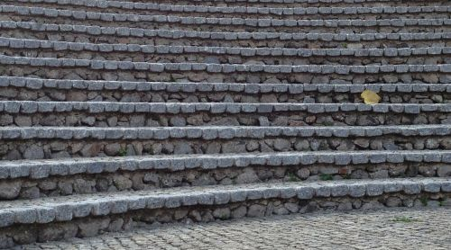 stairs occurs gradually