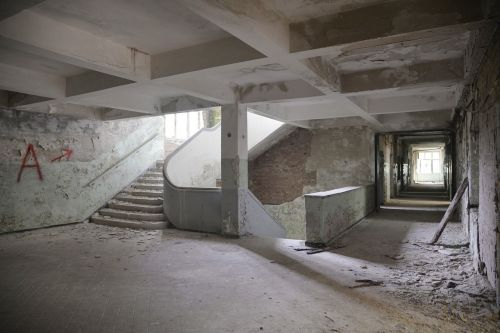 stairs gradually ruin