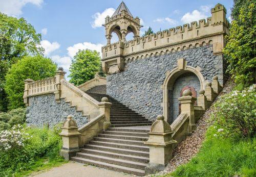 stairs stone gradually