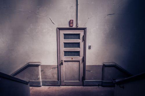 stairs door indoor