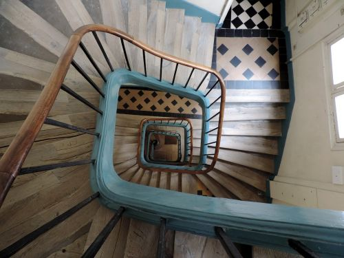 stairs stairwell architecture