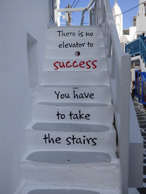 stairs inspiration success