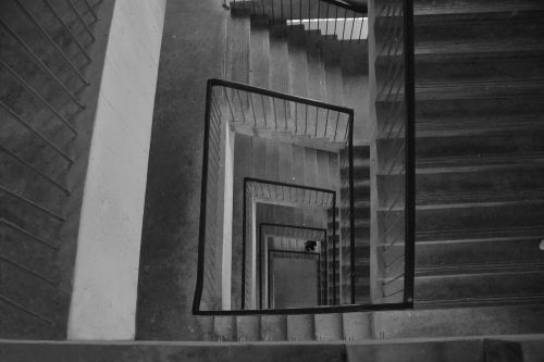 stairs rotate empty