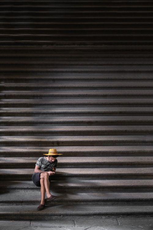stairs stairway people