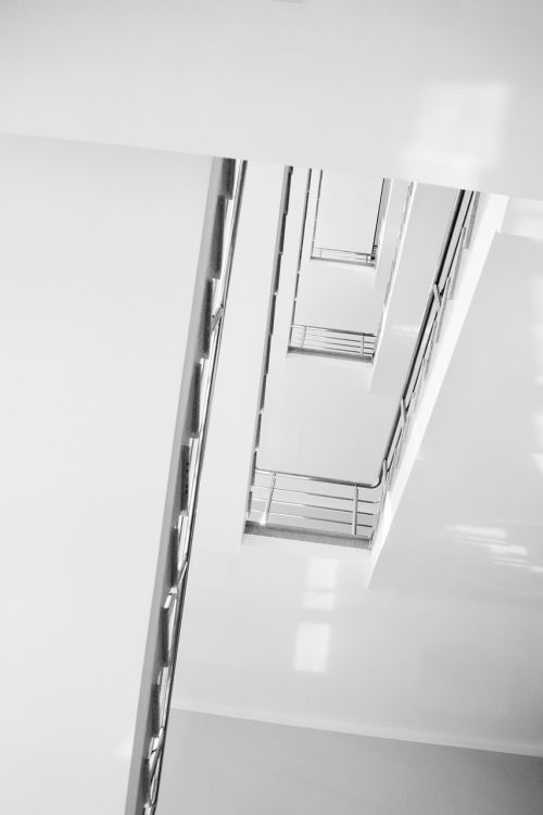 stairs ladder minimalism