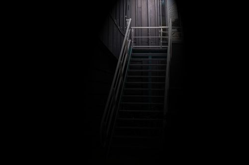 stairs light dark