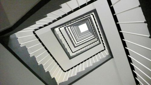 stairs emergence treppengeländer