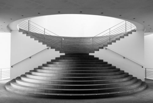 stairs the kunstmuseum bonn museum
