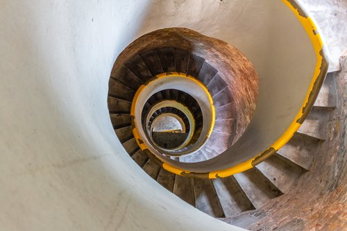 stairs  snail  lighthouse