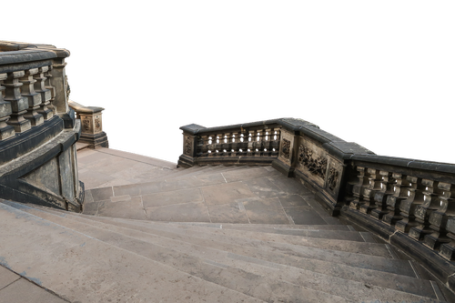 stairs  baroque  gradually