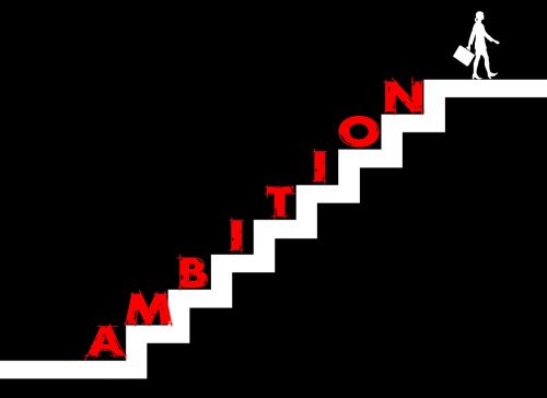 stairs striving for success ambition