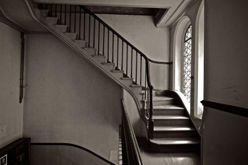 stairs up brighton synagogue