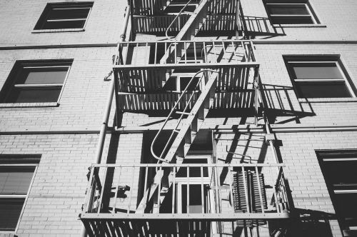 stairs exterior building