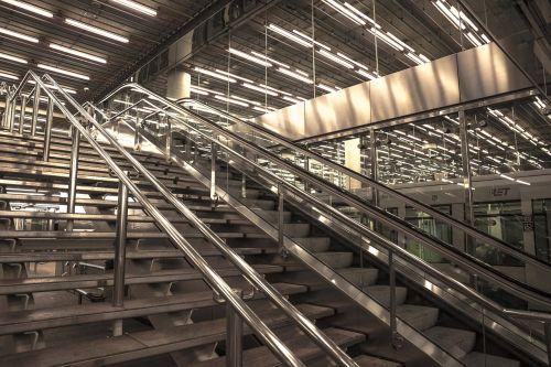 stairs rotterdam station
