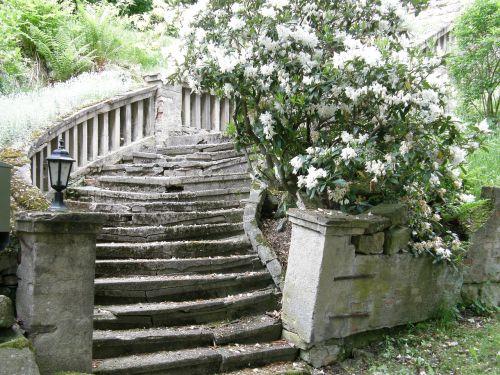stairs lapsed white