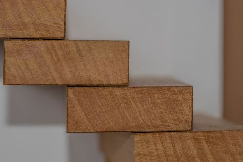 stairs wood wooden building blocks