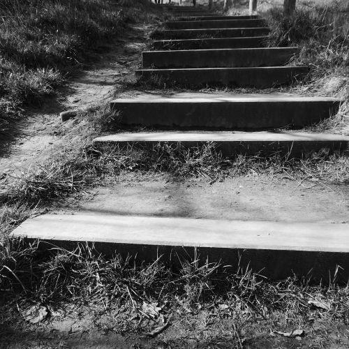 stairs gradually upward