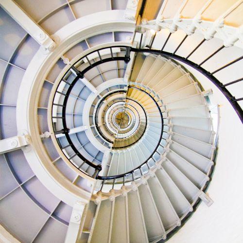 stairs stairwell descend