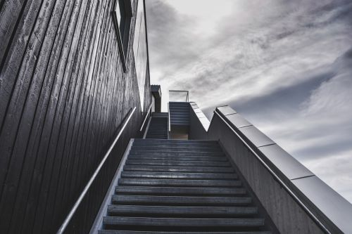 stairs staircase stairway