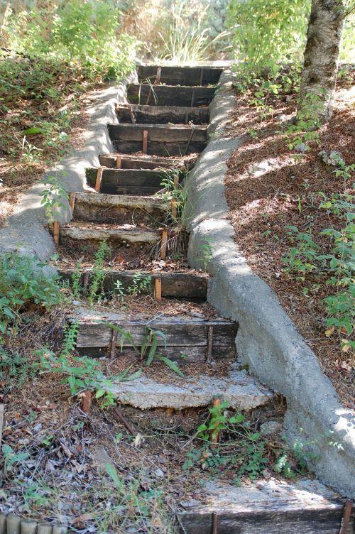 stairs gradually pierre