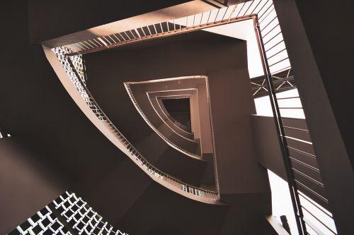 laiptinė,spiralė,laiptinė,architektūra,laiptai,interjeras,statyba,patalpose,figūra,spiraling