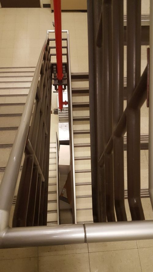 stairwell indoors architecture