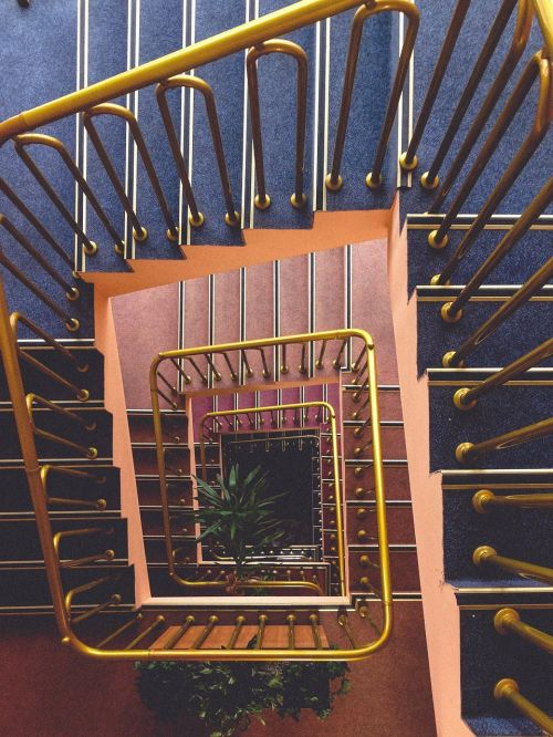 stairwell stairway stairs