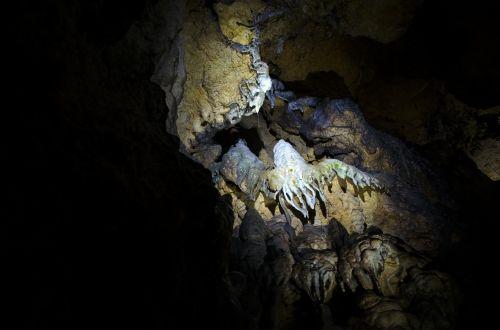stalactite cave stalactite cave