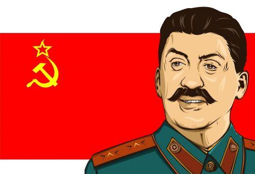stalin stallone flag