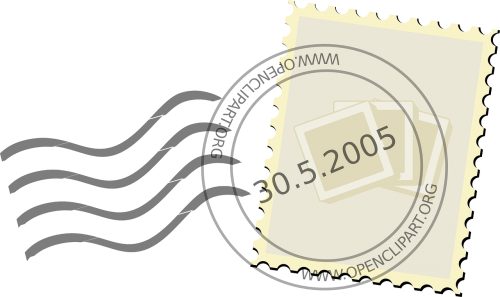 stamp postage postmark