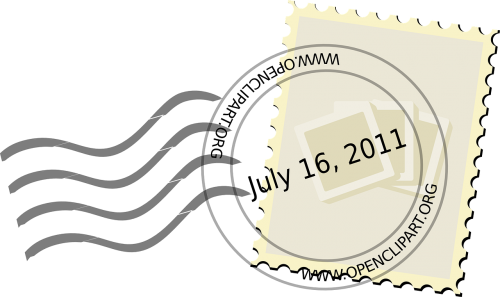 stamp mark postal