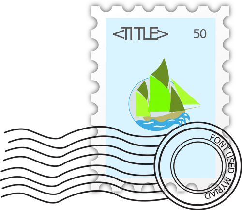 stamp mail letter
