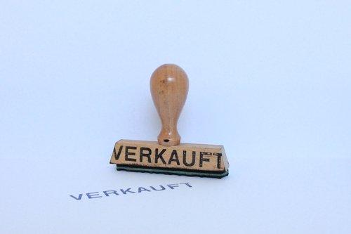 stamp  wood stamp  sold