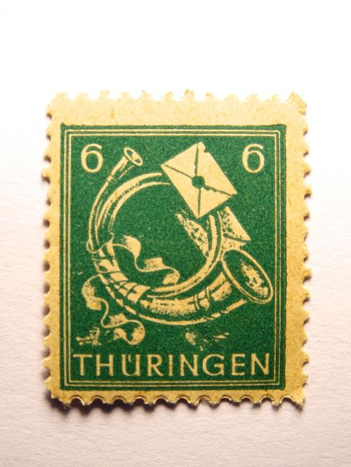 stamp germany dimed
