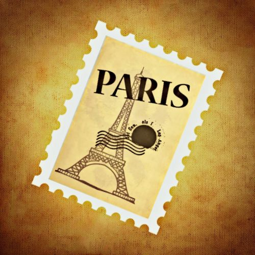 stamp,paris,eiffel tower,background,free illustrations,free images,royalty free