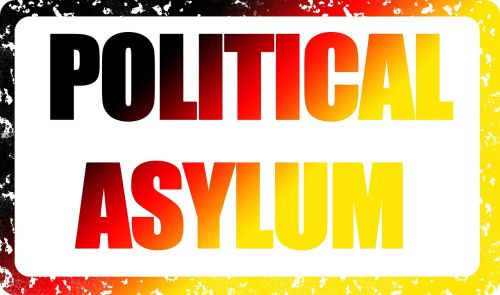 stamp asylum politically