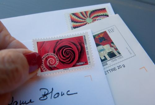 stamps letters mail