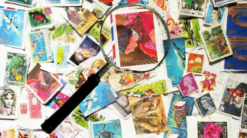 stamps collecting postage