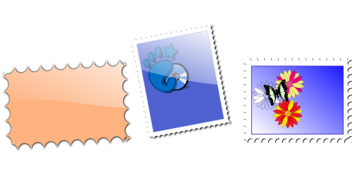 stamps postal mail