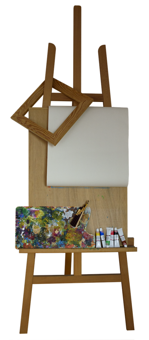 stand easel frame
