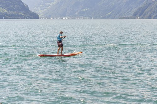 stand up paddle  water sports  paddle