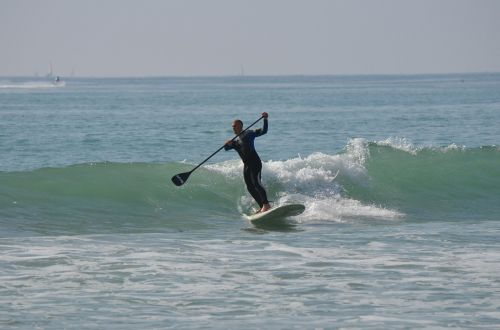 stand up paddle surfing standup paddleboarding man