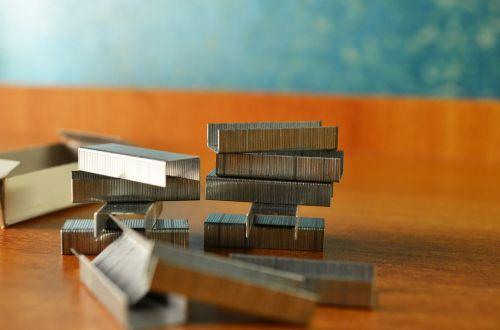 stapler office stationery