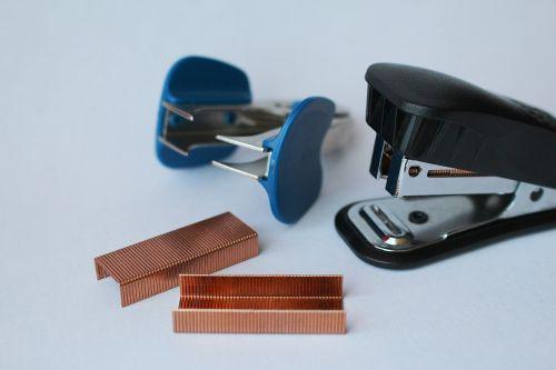 stapler staples staple remover