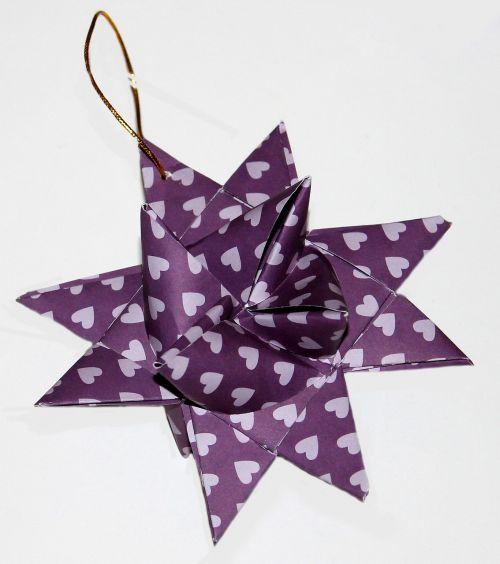 star christmas garnish