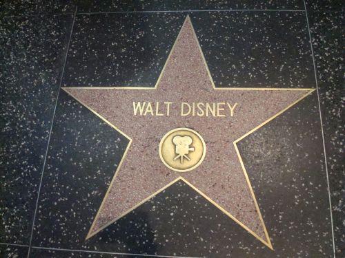 star walt disney hollywood walk of fame